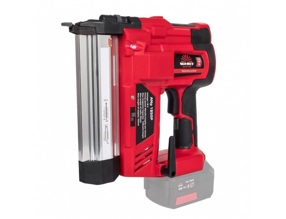 Степлер/гвоздезабивной пистолет аккумуляторный 2-в-1 Vitals Master ANp 1850P SmartLine
