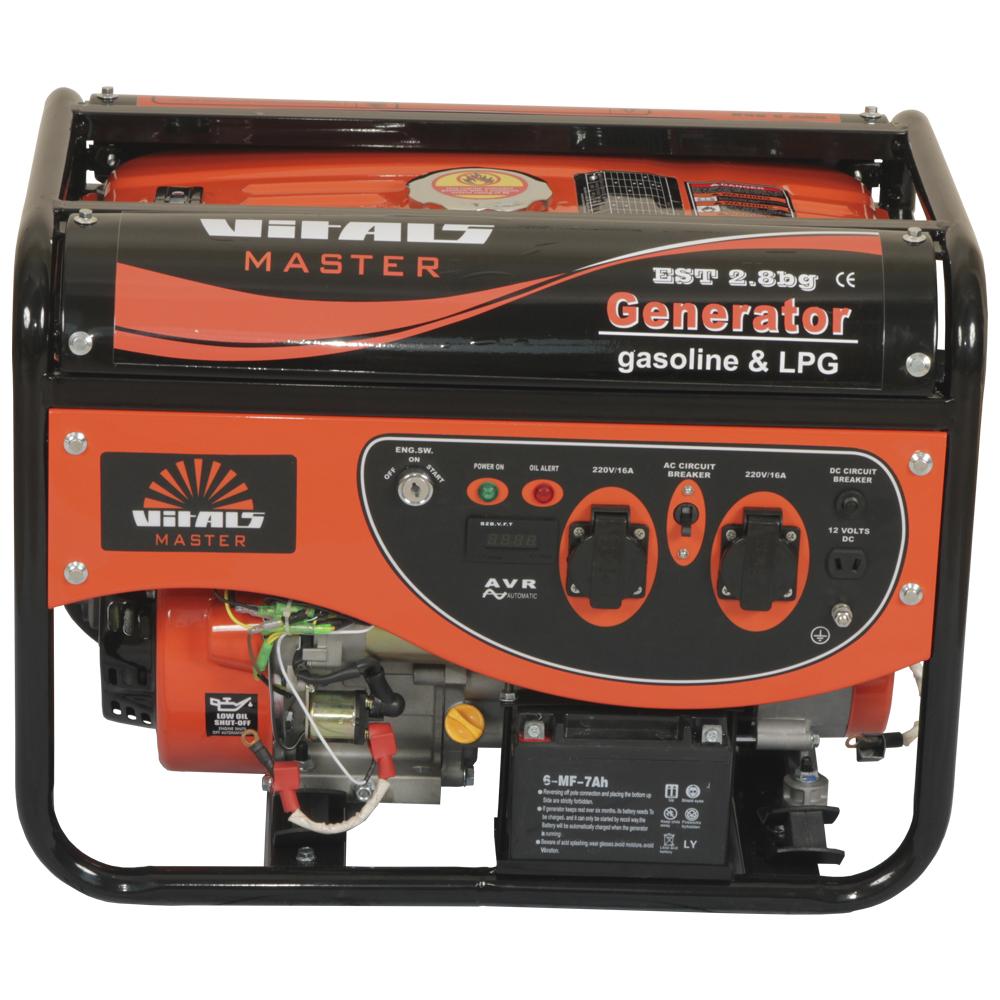 Купить Генератор газ/бензин Vitals Master EST 2.8bg