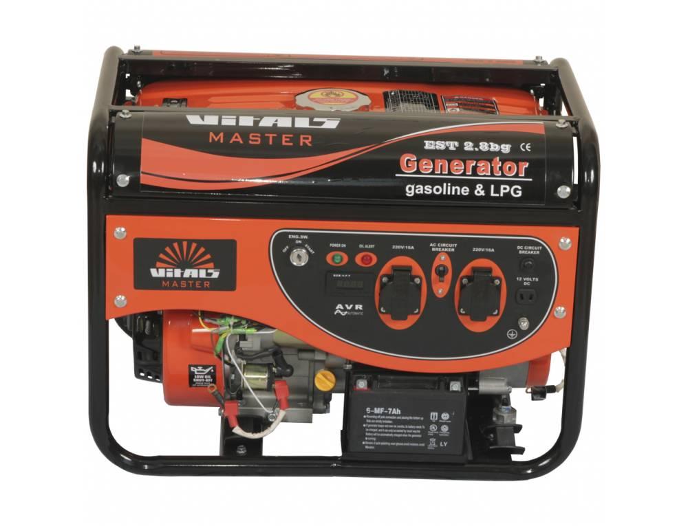 Генератор газ/бензин Vitals Master EST 2.8bg