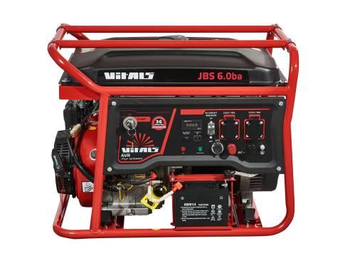 Купить Генератор бензиновий Vitals JBS 6.0ba