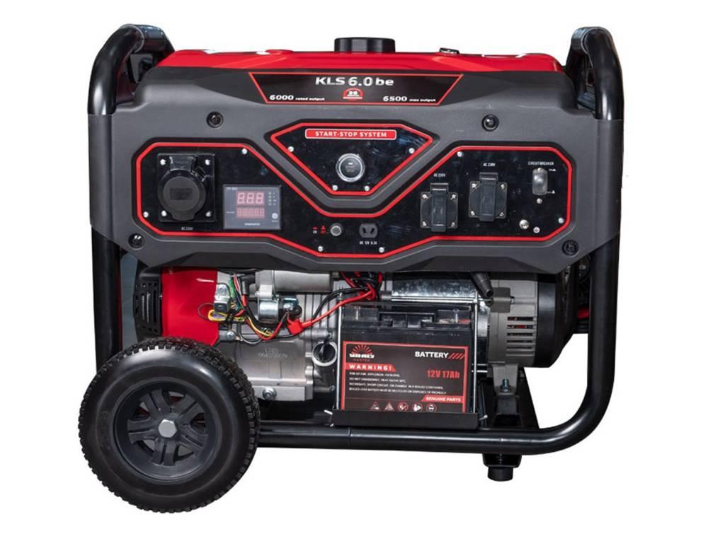 Генератор бензиновый Vitals Master KLS 6.0bet/6.0be