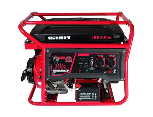 Купить Генератор бензиновий Vitals JBS 5.0be