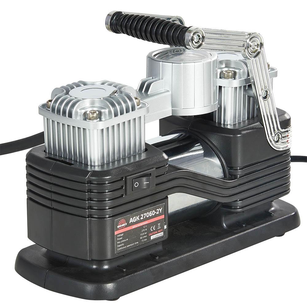 Купить Компресор автомобільний Vitals Master AGK 27060-2Y