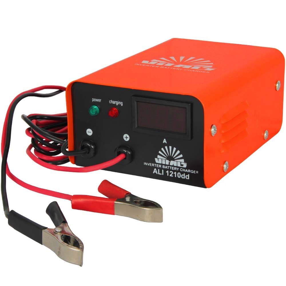 Купить Зарядний пристрій інверторного типу Vitals ALI 1210dd