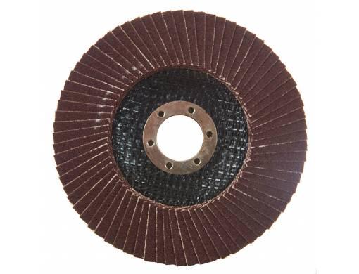 Круг лепестковый торцевой Vitals 125x22.2мм з.100