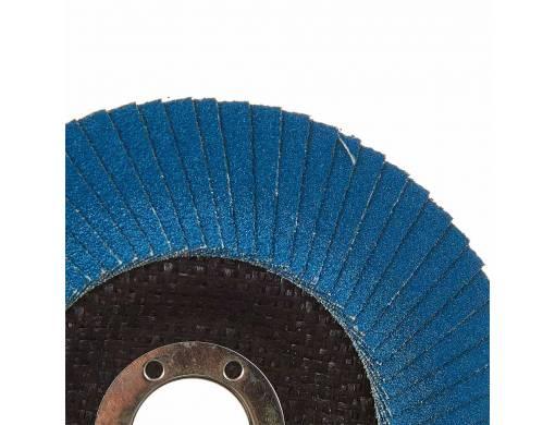 Круг лепестковый торцевой Vitals Master Zirconia 125x22.2мм з.100