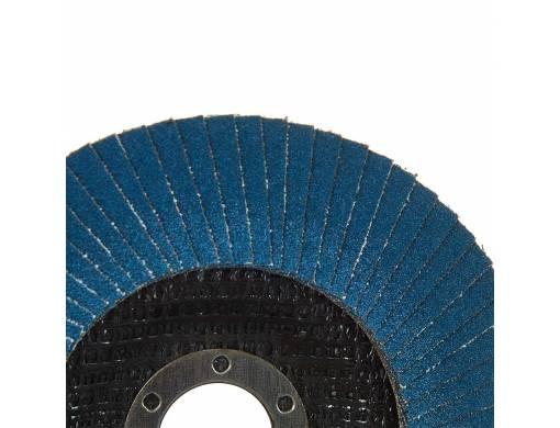 Круг лепестковый торцевой Vitals Master Zirconia 125x22.2мм з.80