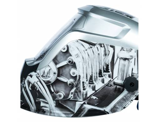 Маска сварщика хамелеон Vitals Professional Engine 2500 LCD