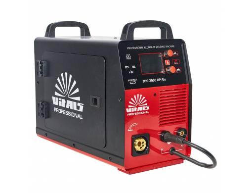 Зварювальний апарат Vitals Professional MIG 2000 DP Alu