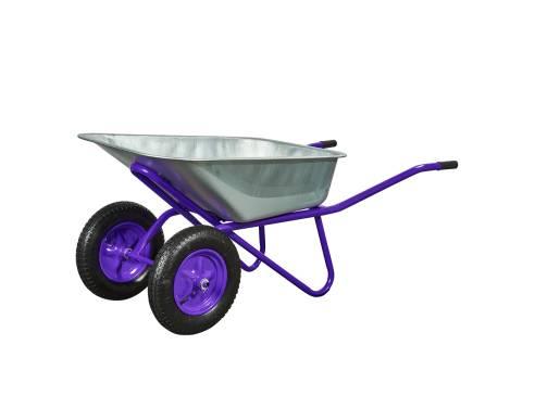 Купить Тачка двоколісна 100 / 250-3 фіолетова