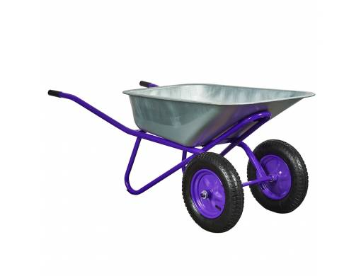 Тачка двоколісна 100 / 250-3 фіолетова