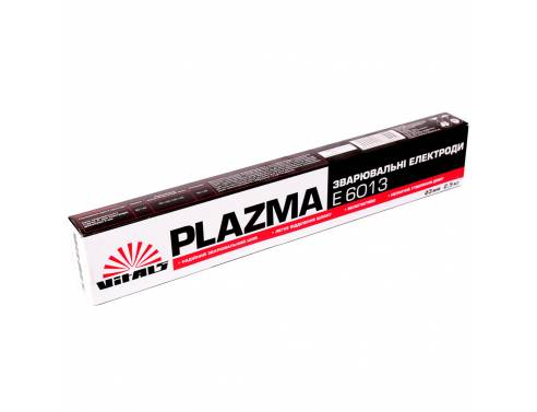 Купить Електроди зварювальні Vitals Plazma E6013, d 3 мм, 2,5 кг