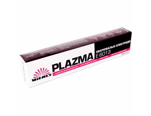 Купить Електроди зварювальні Vitals Plazma E6013, d 3 мм, 5 кг
