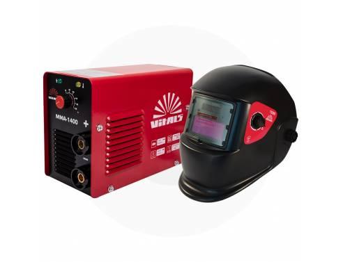 Купить Комплект зварювальний апарат Vitals MMA-1400 + Маска Vitals 1500 (1+1)