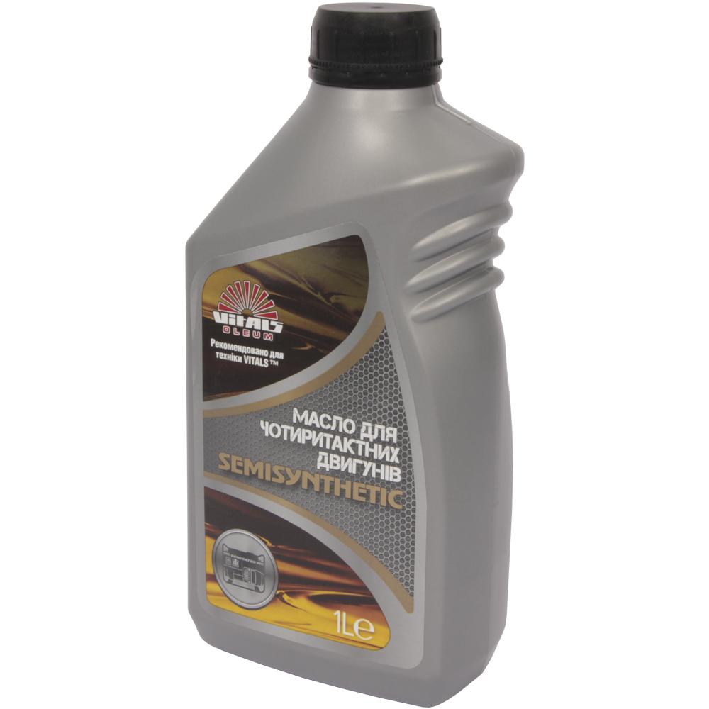 Купить Масло для чотиритактних двигунів Vitals Semisynthetic API SL/CF, 1л