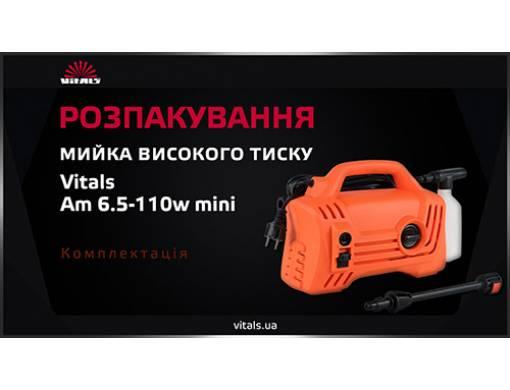 Мойка высокого давления Vitals Am 6.5-110w mini