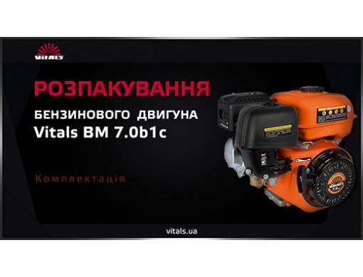 Двигун бензиновий Vitals BM 7.0b1с