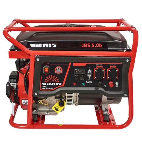 Генератор бензиновий Vitals JBS 5.0b