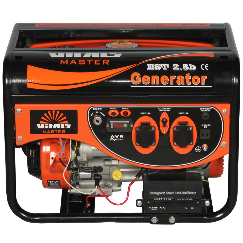 бензиновый генератор EST 2.5b фото 2